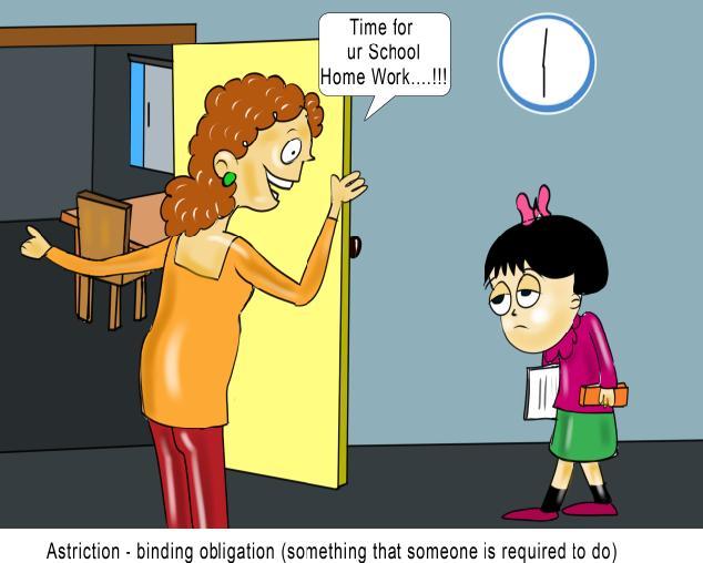 Astriction binding obligation