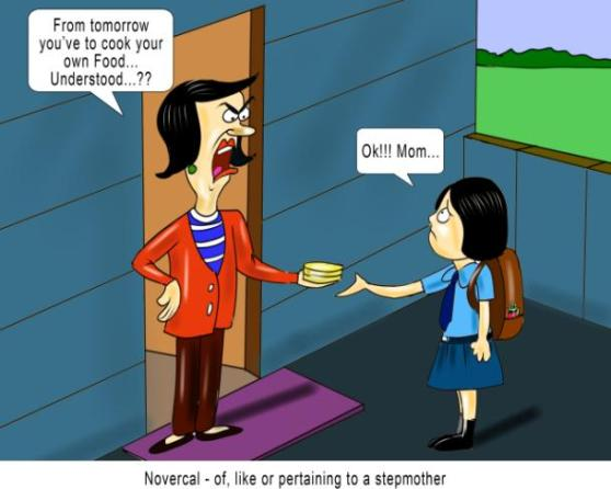 Novercal of like or pertaining to a stepmother