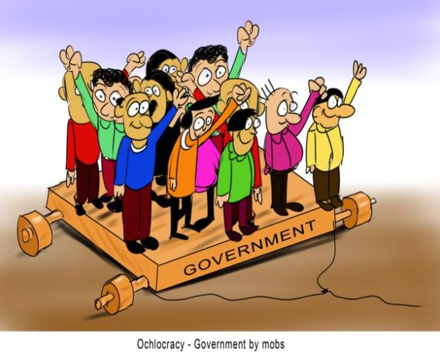 Ochlocracy Government by mobs