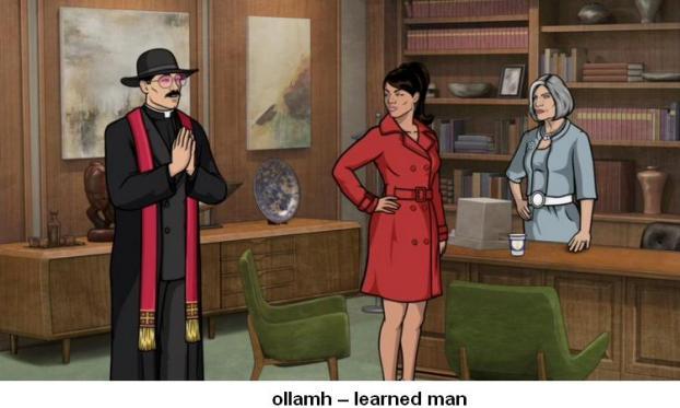 ollamh learned man