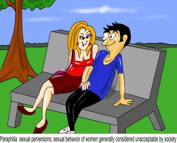 Paraphilia sexual perversions sexual behavior of women