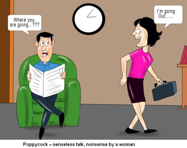 poppycock-senseless-talk-nonsense-by-a-woman nonsense
