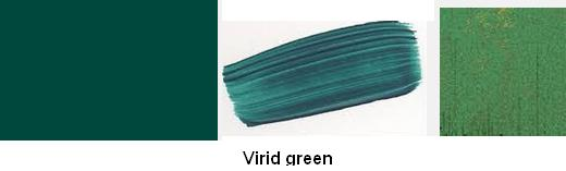 Virid green