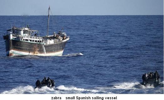 zabra small Spanish sailing vessel