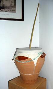 zambomba Spanish percussion instrument