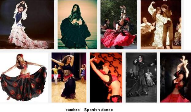 Zambra Spanish Dance