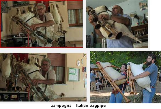 zampogna  Italian bagpipe