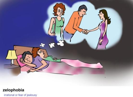 zelophobia irrational or fear of jealousy