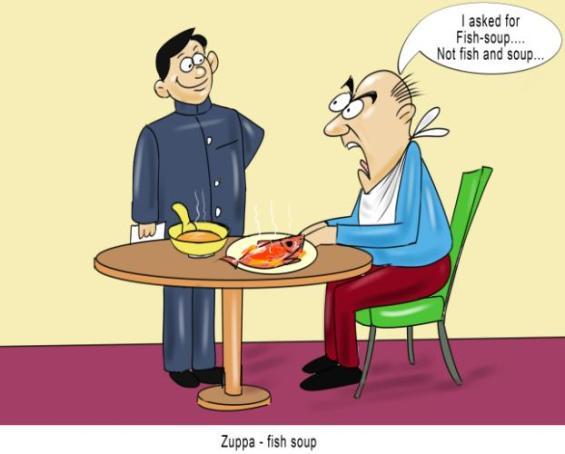 Zuppa fish soup