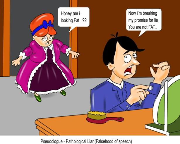 Pseudologue Pathological Liar