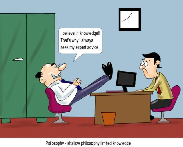 Psilosophy shallow philosophy limited knowledge